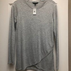 Banana Republic Gray Long Sleeve Tee - XS